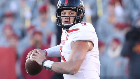 Los Angeles Chargers: Pat Mahomes, QB, Texas Tech