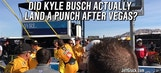 Did Kyle Busch Actually Land a Punch on Joey Logano at Las Vegas?