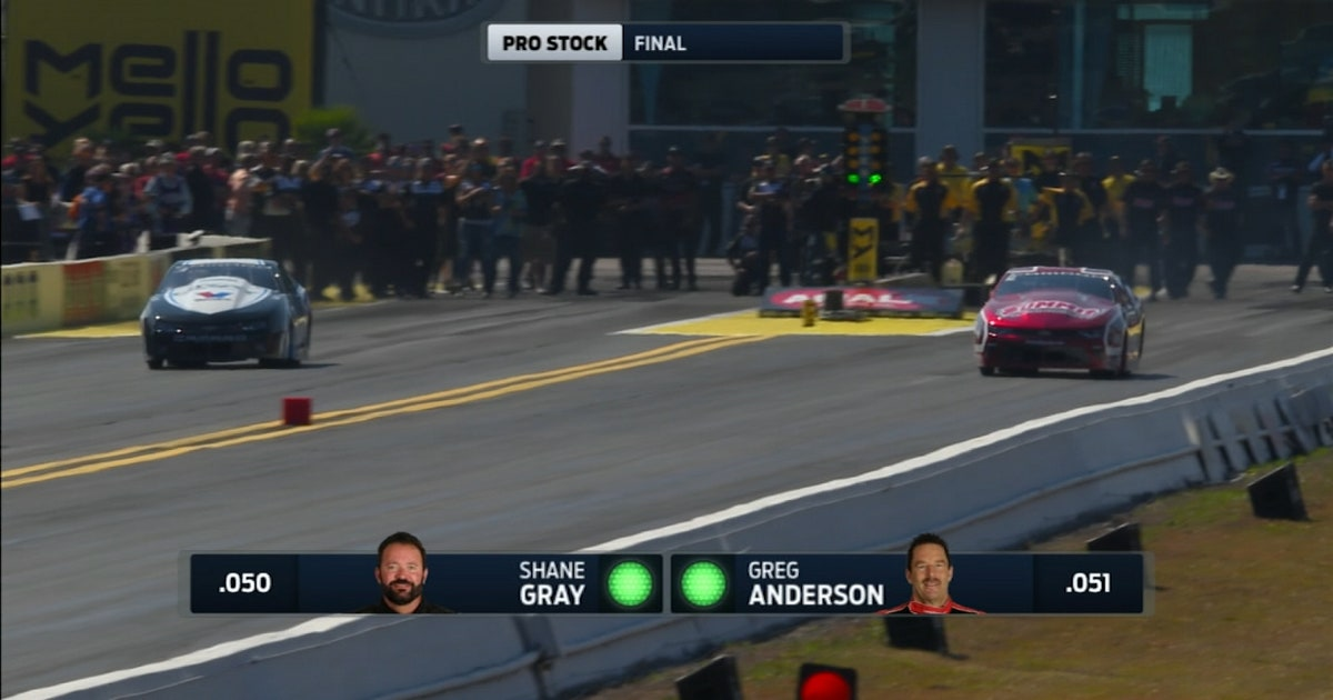 Shane Gray Wins Pro Stock At Gainesville 2017 Nhra Drag Racing