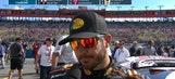Martin Truex Jr. Falls to Fourth Late | 2017 FONTANA | FOX NASCAR