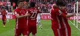 Javi Martinez scores for Bayern Munich against FC Koln | 2016-17 Bundesliga Highlights