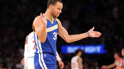 Colin Cowherd: Curry's not even close to the MVP conversation this year