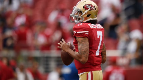 Shannon Sharpe: Kaepernick has used his platform to help people, yet he's still viewed as a distraction