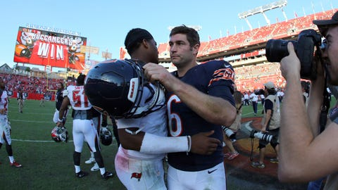 Cutler can make all throws, but he's not a leader