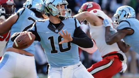 Browns (TRADE with Titans, from Rams):Mitchell Trubisky, QB, North Carolina