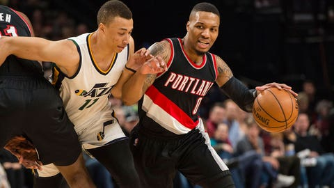 Damian Lillard: 59 vs. Jazz (4/8/17)