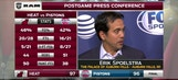 Erik Spoelstra says both teams understood the desperation of the game