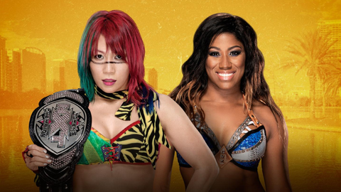 Asuka vs. Ember Moon for the NXT Women's Championship