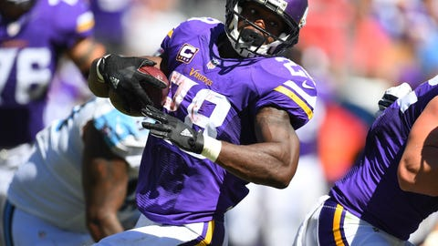 Skip Bayless: Peterson is now realizing his pro football mortality