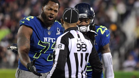 Michael Bennett: It's about wins and losses, not safety