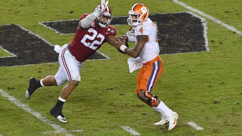 Denver Broncos: Ryan Anderson, LB, Alabama