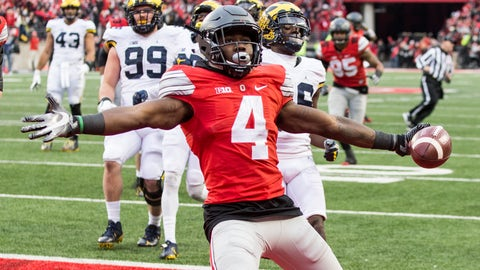 Cleveland Browns: Curtis Samuel, RB/WR, Ohio State