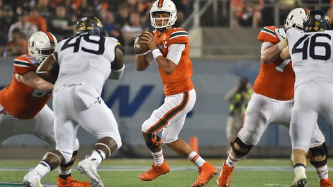 Kansas City Chiefs: Brad Kaaya, QB, Miami