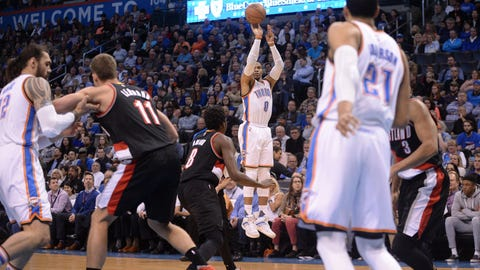 Shannon: It's understandable that Westbrook's teammates are giving up