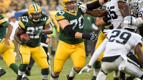 Shannon Sharpe: Lacy feels like he'll get more opportunities away from Aaron Rodgers