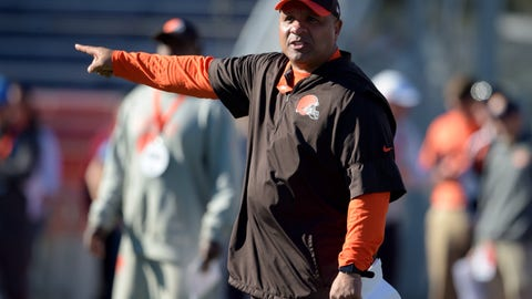 Colin Cowherd: Hue Jackson can't afford to write off another season
