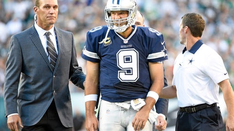 Shannon: Tony Romo is not the attraction Jerry Jones thinks he is