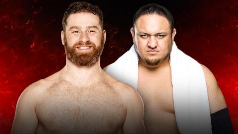 Sami Zayn vs. Samoa Joe
