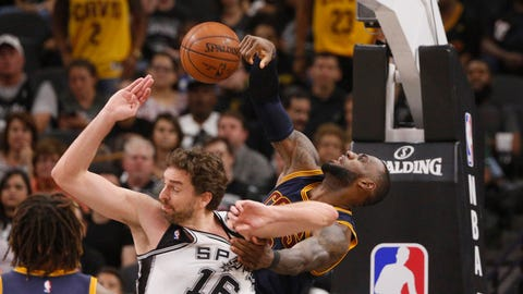 Skip Bayless: The Spurs would have normally been beaten at home with that type of performance, but the Cavs were even worse