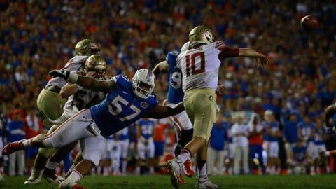 Dallas Cowboys: Caleb Brantley, DT, Florida