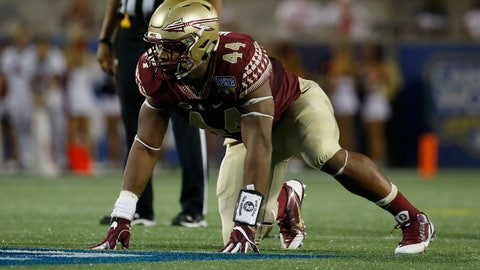 Atlanta Falcons: DeMarcus Walker, DE, Florida State