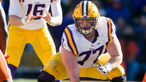 Carolina Panthers: Ethan Pocic, C, LSU