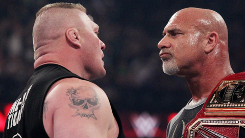 Will the Goldberg-Lesnar match last more than five minutes?
