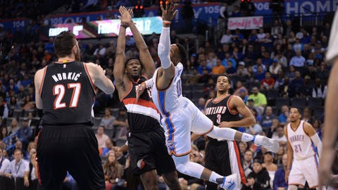 Shannon: The Thunder aren't going to be able to lure free agents to play with Westbrook