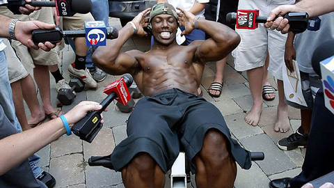 Skip: T.O. is enjoying all the extra attention he wouldn't have received otherwise