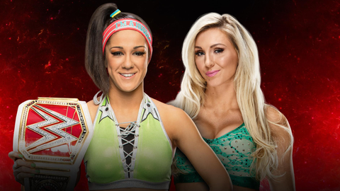 Bayley vs. Charlotte Flair for the Raw Women's Championship