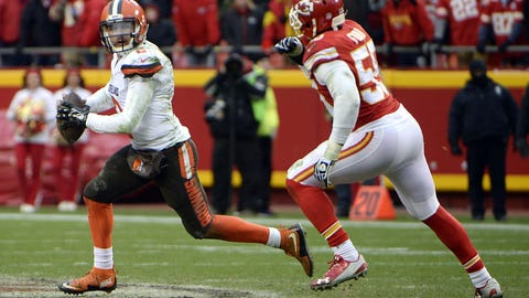 Skip: Manziel is a risk, but at least he's trying