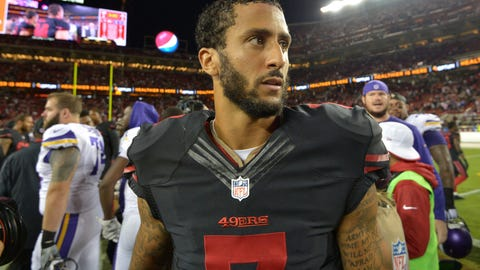 Skip Bayless: A quarter of NFL teams would be better with Kaepernick as the starter