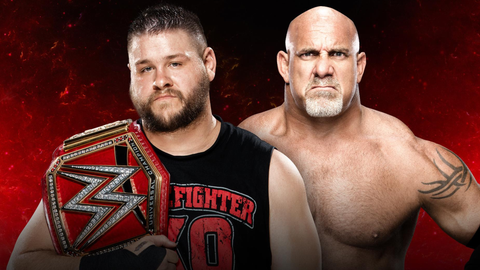 Kevin Owens vs. Goldberg for the Universal Championship