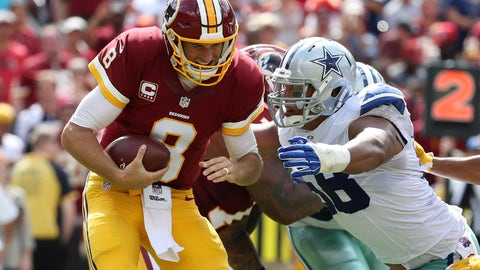 October 29: Dallas Cowboys at Washington Redskins, 4:25 p.m. ET