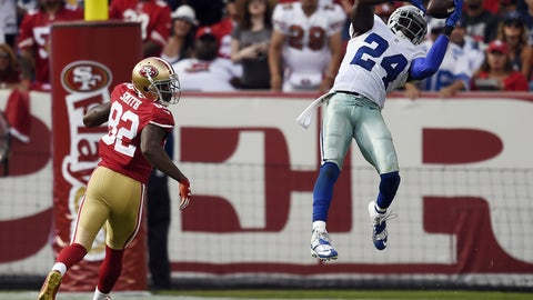 October 22: Dallas Cowboys at San Francisco 49ers, 4:05 p.m. ET