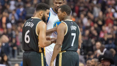 Raptors vs. Warriors: +1860