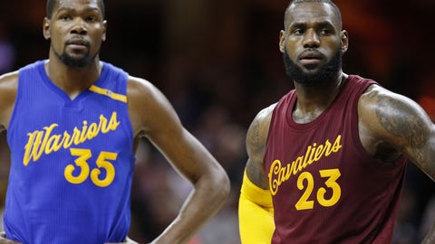 There's no reason to expect an entertaining, all-time Finals series