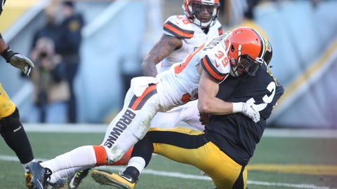 December 31: Cleveland Browns at Pittsburgh Steelers, 1 p.m. ET