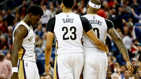 New Orleans Pelicans: Anthony Davis, DeMarcus Cousins, Jrue Holiday
