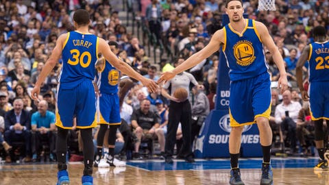 Warriors are surging
