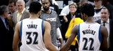 NBA All-Stars sound off on Towns, Wiggins