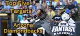 Fantasy Baseball Draft Advice: top five Arizona Diamondbacks