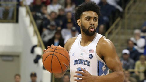 Feb 25, 2017; Pittsburgh, PA, USA;  North Carolina Tar Heels guard Joel Berry II (2) handles the ball against the Pittsburgh Panthers during the second half at the Petersen Events Center. The Tar Heels won 85-67. Mandatory Credit: Charles LeClaire-USA TODAY Sports