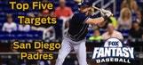 Fantasy Baseball Draft Advice: top five San Diego Padres