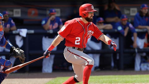 Adam Eaton will lead the majors in runs scored.