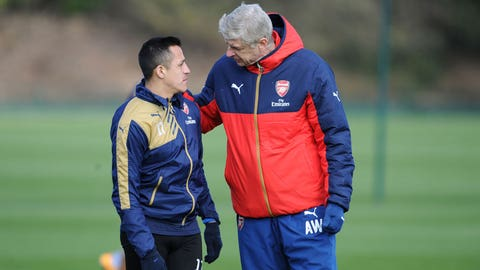 Wenger laughs off mega-money contract for Alexis