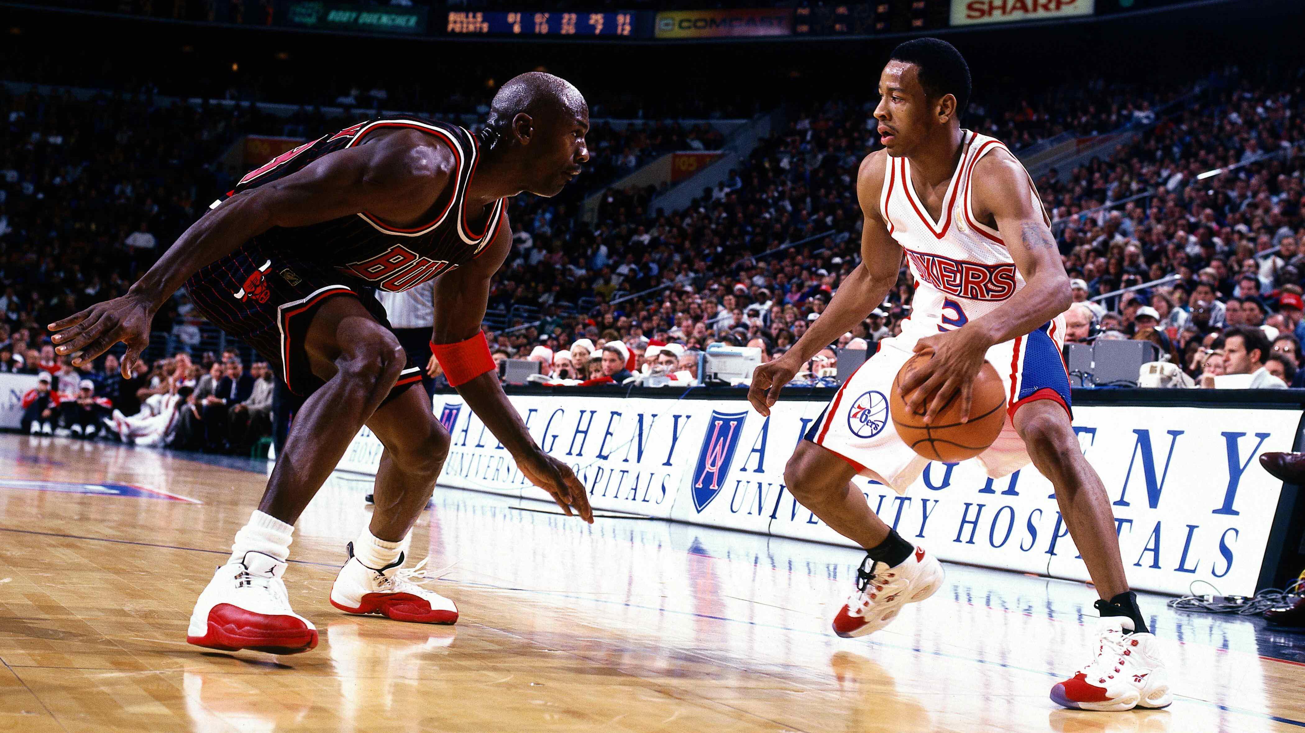 關於四大分衛那些可笑的謠言!「戰神」Iverson擁有普通人身材,Kobe天賦很一般!