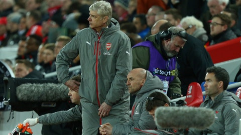 Arsenal couldn't execute Arsene Wenger's tactics