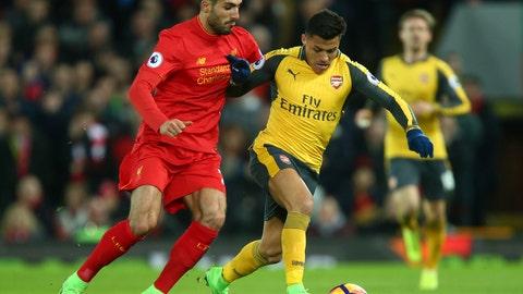 Arsenal — Alexis Sanchez