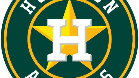 Astros (in A's colors)